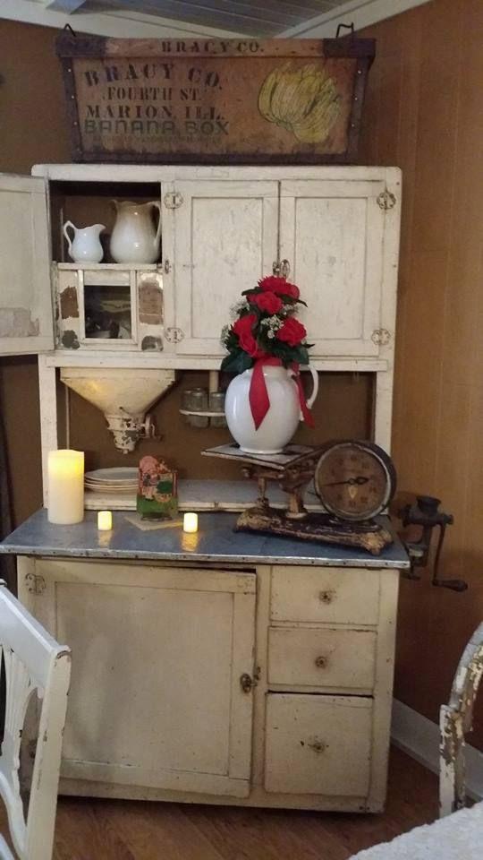 hoosier cabinet -   Junky Jo's Secondhand Cottage