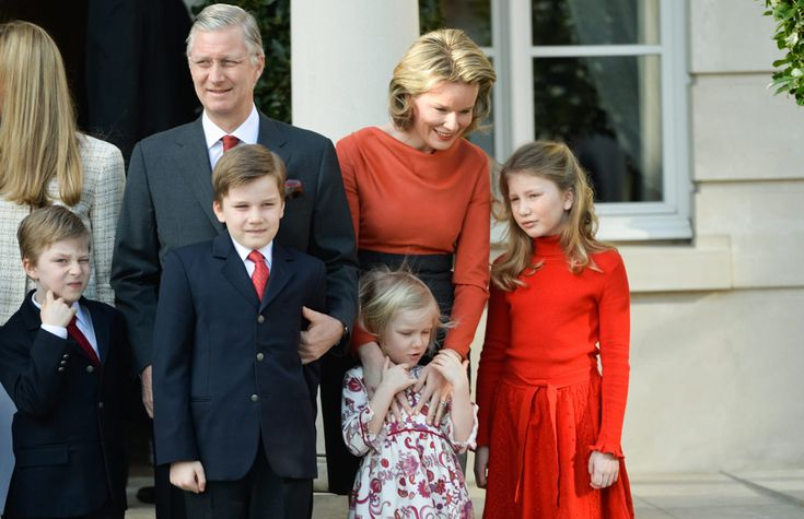 Philippe and Mathilde of Belgium, happily Committed to his nephew, Prince Amadeo, With journalist Lili Rosboch