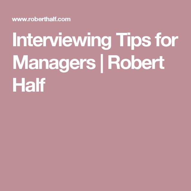 Oltre 25 fantastiche idee su Robert half recruitment su Pinterest - interviewing tips