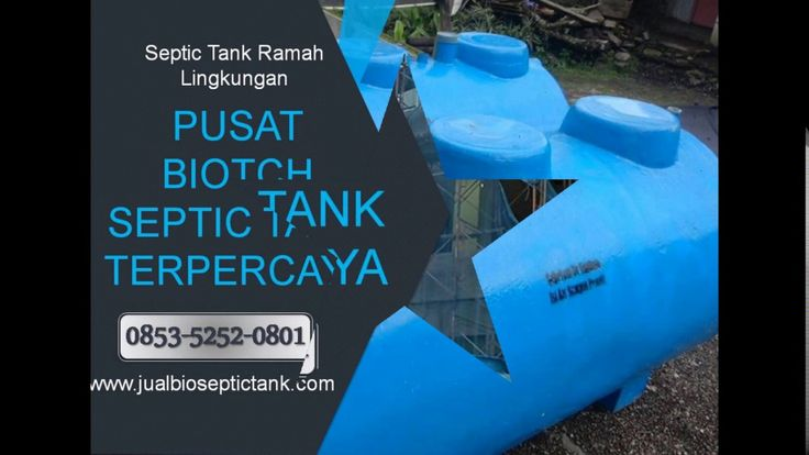 Septic Tank Fibreglass, Biotech, Biofill, IPAL | Bio Septictank | 0853-5...