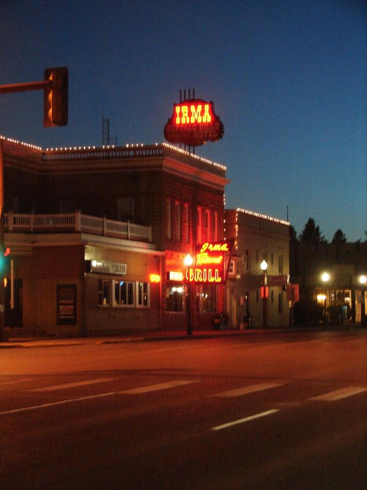 Historical Irma Hotel, Cody, Wyoming
