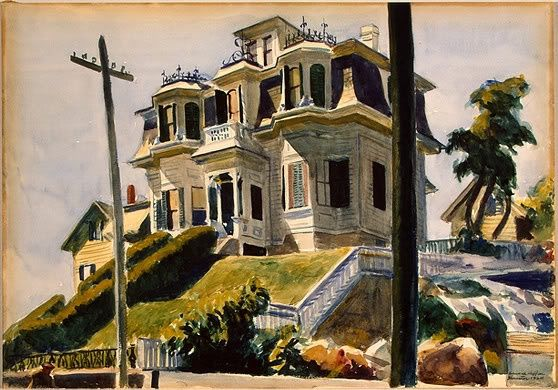 The Psycho House was inspired by Hitchcock's favorite Edward Hopper painting