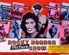 1975 The Rocky Horror Picture Show Original UK Film Poster. £2250 at Vintage Seekers.