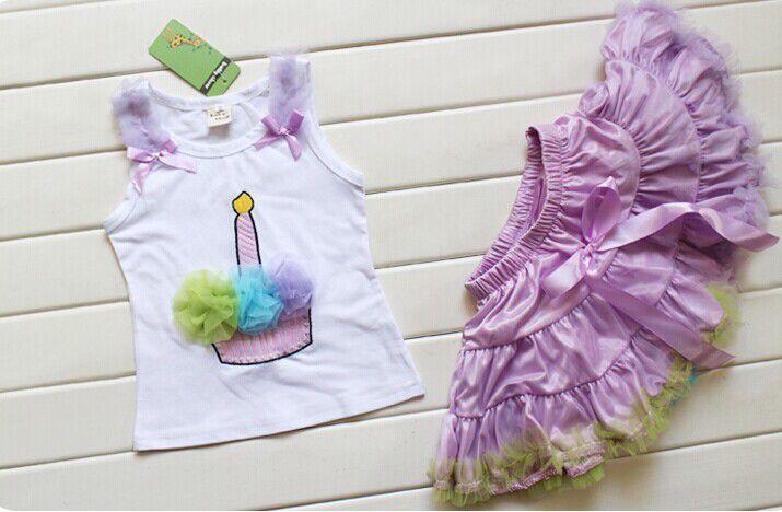 Birthday 2 piece tutu
