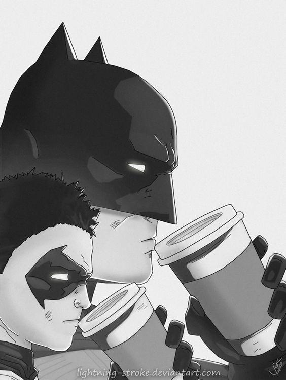 #Batman #Coffee The right coffee can make you feel like a Superhero!