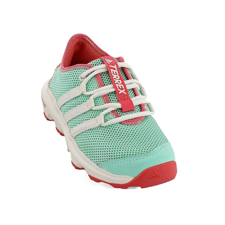 Adidas Outdoor Terrex Climacool Voyager Girls' Trail Shoes, Med Green