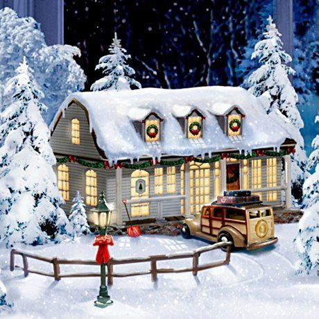 Christmas Village Collections.White Christmas Village Collection Merry Christmas And