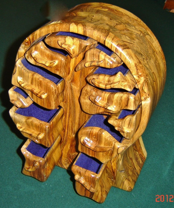 Tree Of Life Bandsaw Jewelry Box By Mountainmanstan On