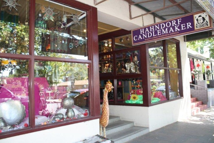 Hahndorf candlemaker in the Adelaide Hills, South Australia