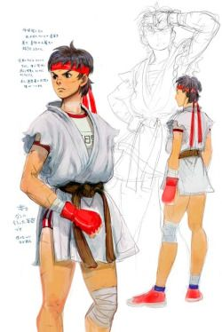 """rascalthecat: """" Sakura Concept Art by Daigo Ikeno """""""