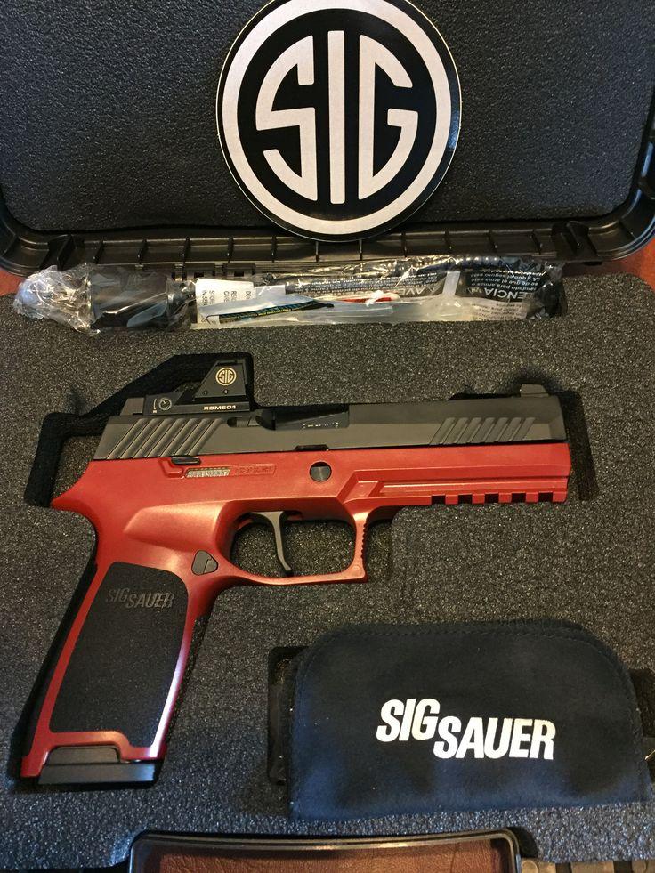Sig P320 RX Crimson Red
