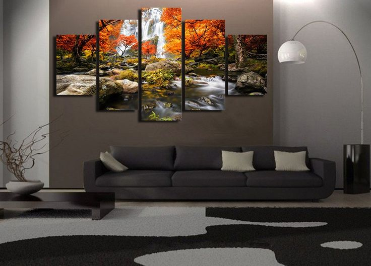 Autumn Waterfalls Canvas Print – TC Discount Store