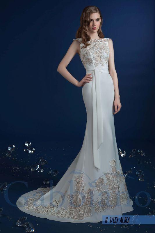 Алика - Прямые свадебные платья