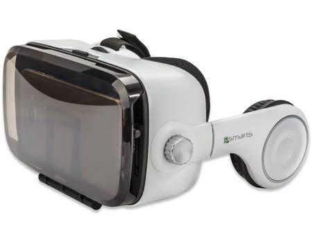 4smarts Spectator SOUND Universal VR-/AR-Brille mit integrierten Kopfhörern für Smartphone bis 15,24 cm (6 Zoll) weiß günstig kaufen - Allyouneed.com