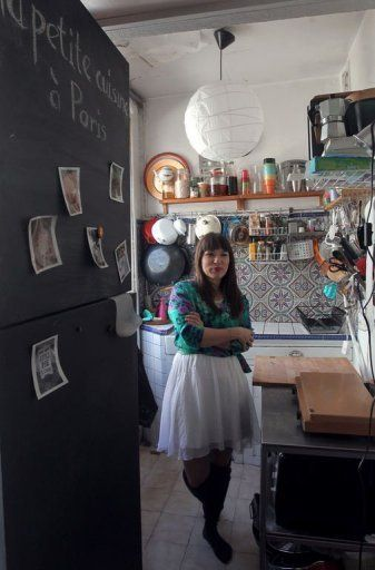 Slightly obsessed with Rachel Khoo's apartment.