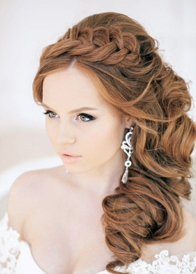 17 Best images about Coiffure mariage on Pinterest | Updo, Wedding ...
