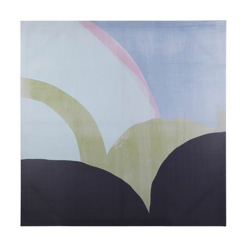 Abstract Pastels Print Canvas | Kmart