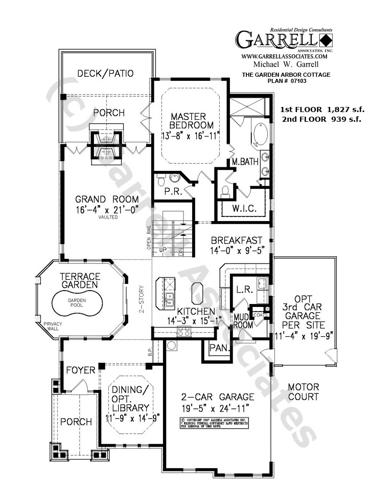 1000 images about house plans on pinterest french for Backyard cottage floor plans