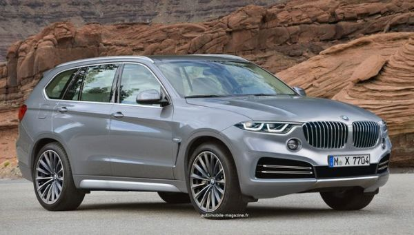 2017 BMW X7 will be the largest SUV that has come out of Bavarian maker's factory floors up to date, ant it will reportedly come with all three rows of seats.
