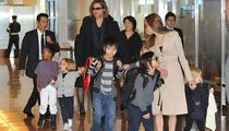 Brad Pitt and Angelina Jolie's Family Photos