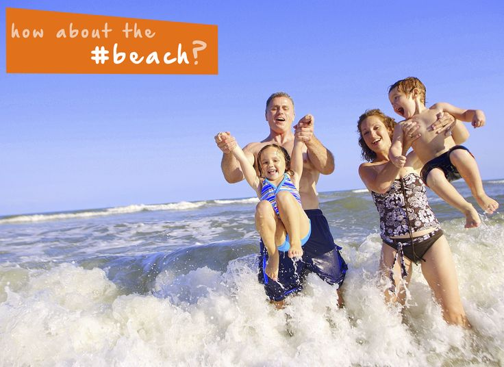 The #beach is the place to be this #summer! #familyfun #thingstodo #vacation