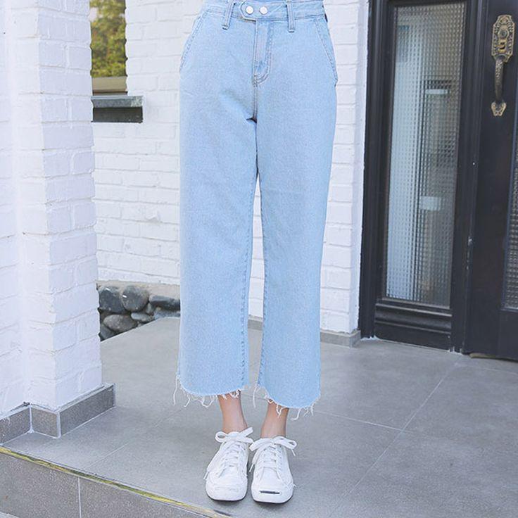 Europen estilo boyfriend harem das mulheres calças de cintura alta calça jeans cowboy calças de cowboy do vintage Tornozelo comprimento das calças soltas calças de cowboy em Calças de brim de Das mulheres Roupas & Acessórios no AliExpress.com | Alibaba Group