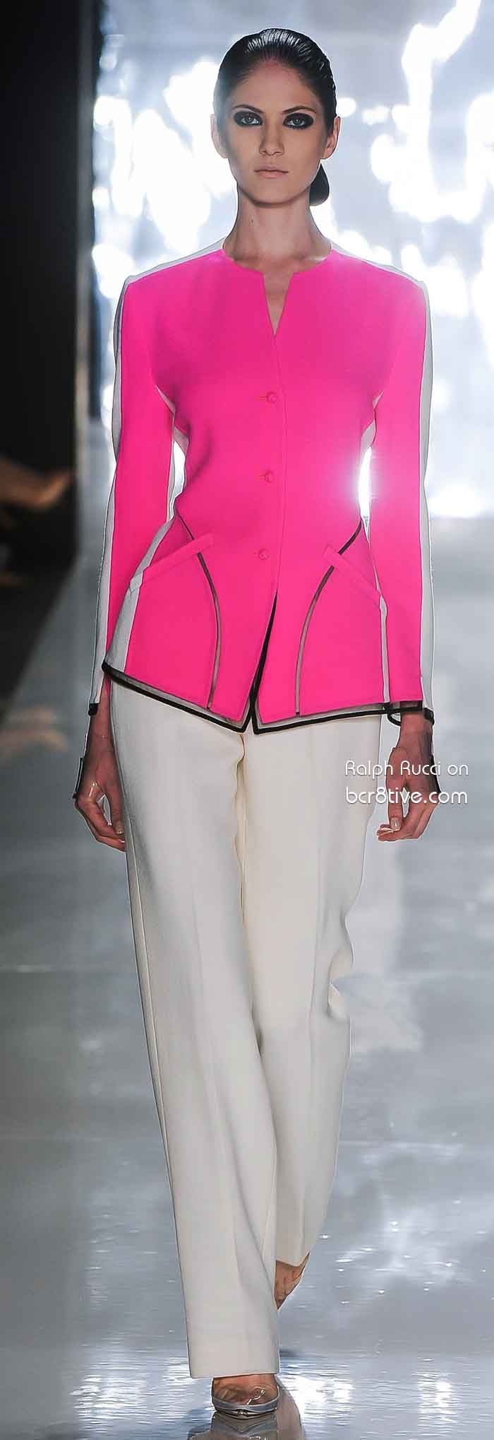 Ralph Rucci Spring 2013