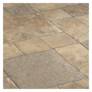20.02 Sq.Ft. 10mm Cottage Stone Beige Laminate Flooring Tiles..HHardware
