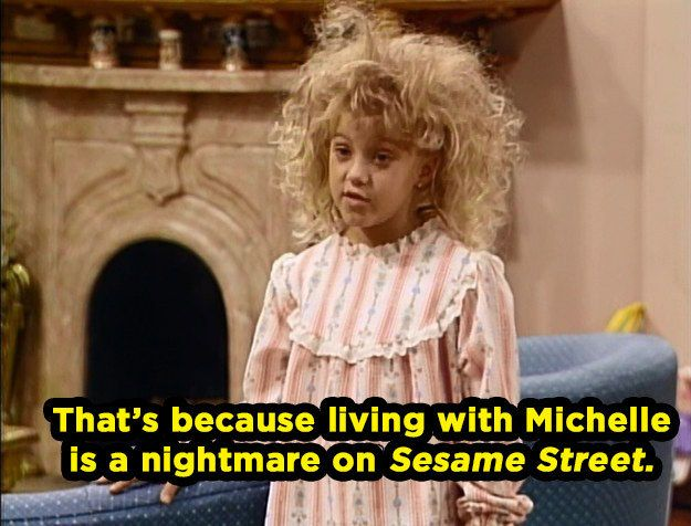 "When she perfectly embodied what it was like to grow up with a little sister. | Community Post: 20 Times Stephanie Tanner Was The Baddest Bitch On ""Full House"""