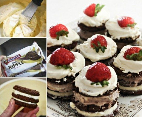 Mini Chocolate Ripple Cake Recipe Is Super Easy   The WHOot