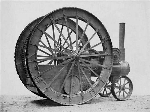 По колесу изнутри: Тракторы XIX века с колесными редукторами. - Не теряйте мужества - худшее впереди!
