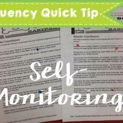 Fluency Monitoring Quick Tip