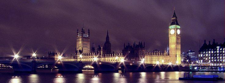 Facebookカバー写真:ロンドン:ウェストミンスター宮殿(国会議事堂)