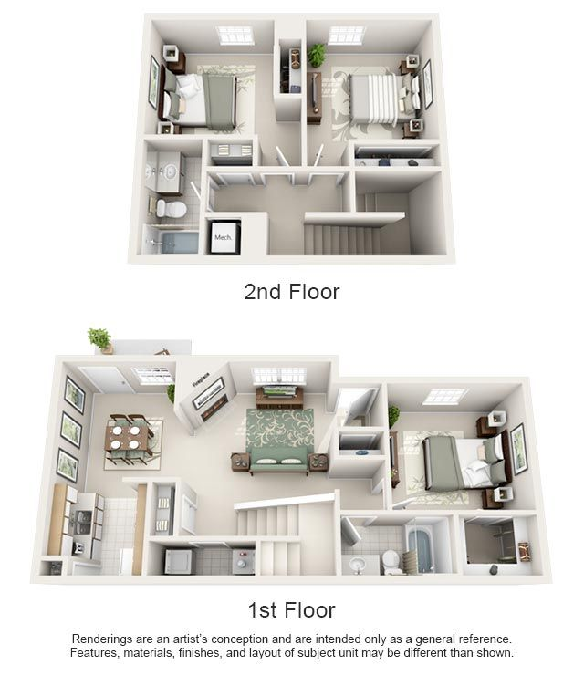 Luxury 1 2 And 3 Bedroom Apartments In Spring Hill Tn Tennessee Apartment Steadfast Springhill Sims House Design Apartment Layout Sims House Plans