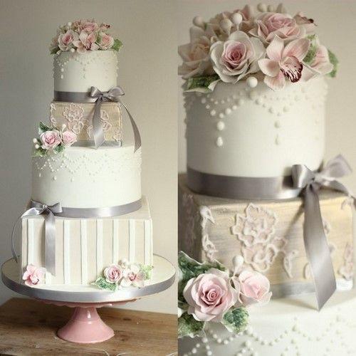 торты фото красивые свадебные