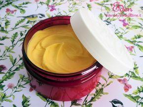 crema corpo fatta in casa vaniglia