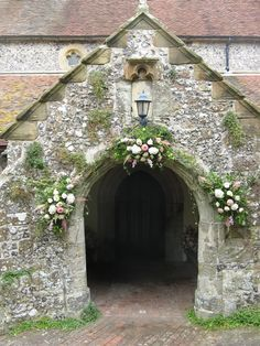 floral arches churches - Google Search