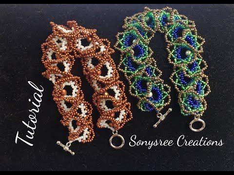 Easy DIY bracelet (ogalala Stitch ) ~ Seed Bead Tutorials