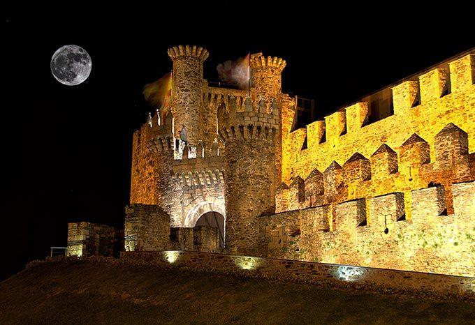 Some of the most beautiful castles in Spain - Castillo templario de Ponferrada, León, Castilla y León
