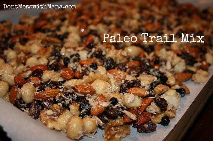 paleo trail mix from Don't Mess With Mama
