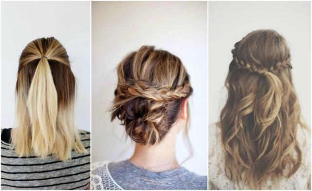 Jak upiąć włosy średniej długości? Poznaj trendy na zimę 2016/2017 #średnie #włosy #fryzury #kobieta