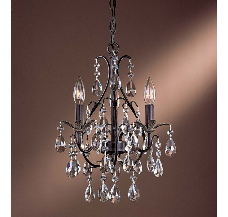 23 best chandelier or hall lighting images on pinterest hall shop for the minka lavery castlewood walnut 3 light 1 tier mini crystal chandelier from the mini chandeliers collection and save aloadofball Gallery
