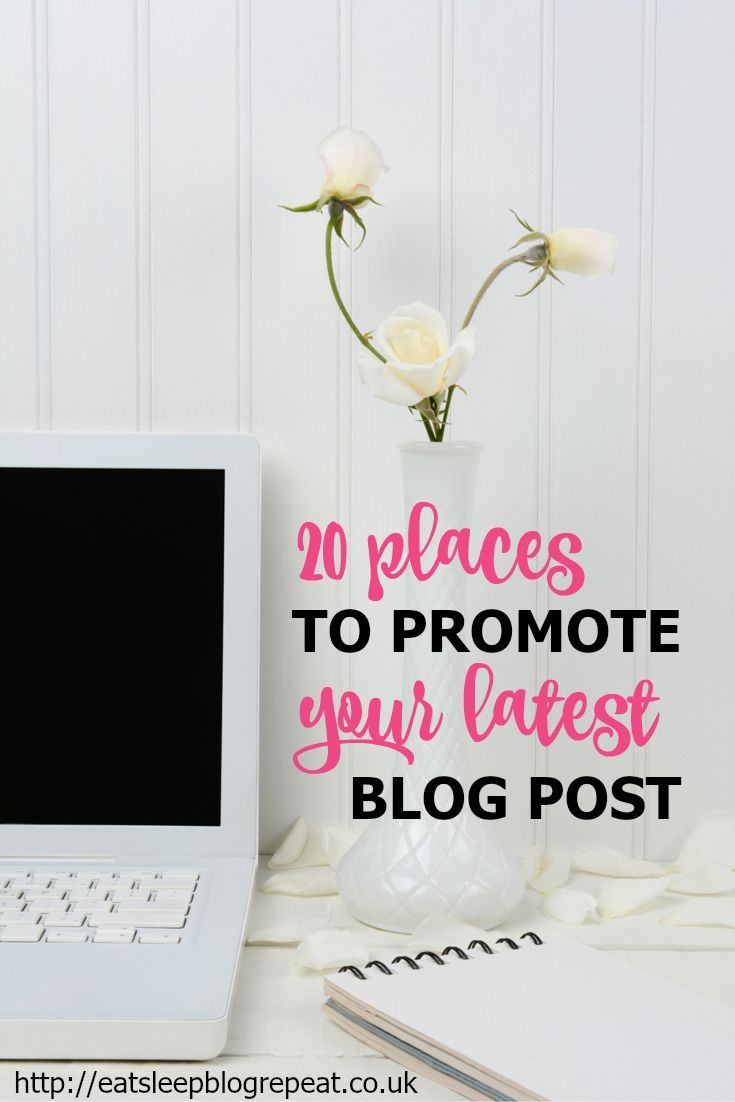 In this post I've shared 20 places you can share your blog post after pressing the publish button!