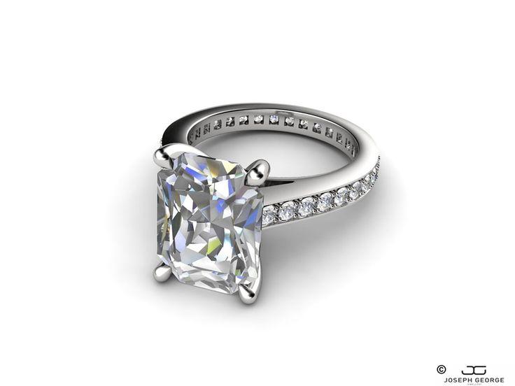 Exploring the magic of April's diamond birthstone - Joseph George - http://www.josephgeorge.com.au/?p=8827 -