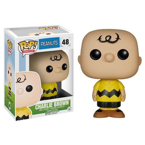 Peanuts Charlie Brown Pop! Vinyl Figure - Funko - Peanuts - Pop! Vinyl Figures at Entertainment Earth