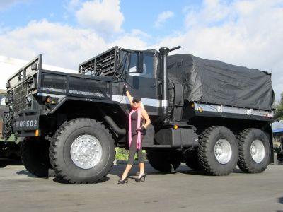 5 Ton MONSTER Military 6x6 Cargo Truck - DamnCoolGadgets