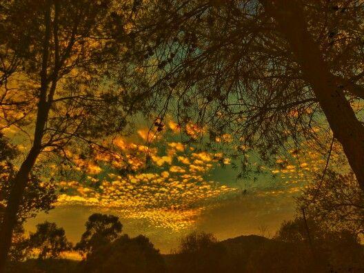 Nubes de atardecer 2