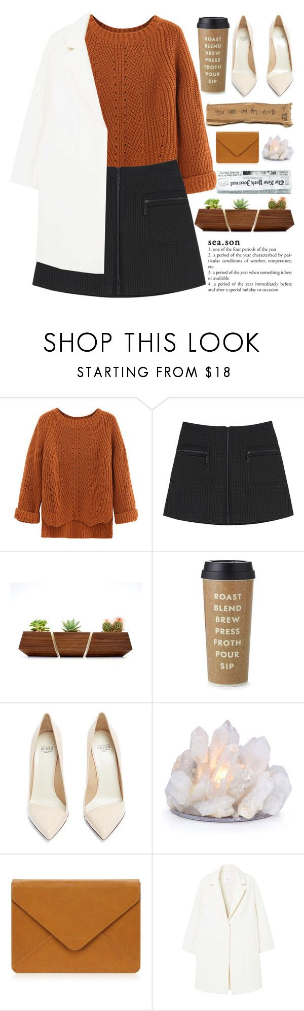 """A Fallen Star Fell"" by rredamancy ❤ liked on Polyvore featuring WithChic, Kenzo, Kate Spade, Francesco Russo and MANGO"