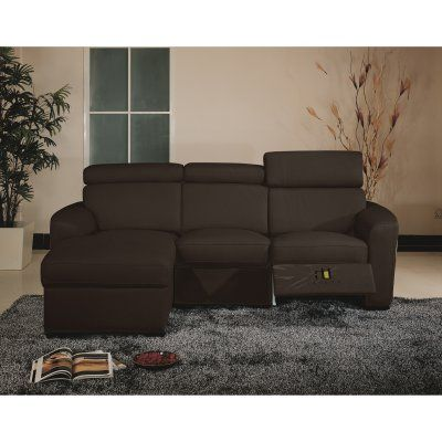 Sofa Tables Mica Sectional Leather Sofa Brown MICA BROWN LHF Durable