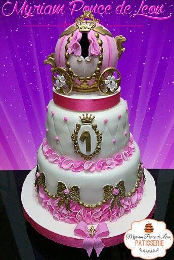 Cake carroza princesa, MyriamPonce de Leon- Patisserie